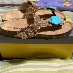 Forever 21 Shoes - Birkenstock Style Sandal.  NWT!